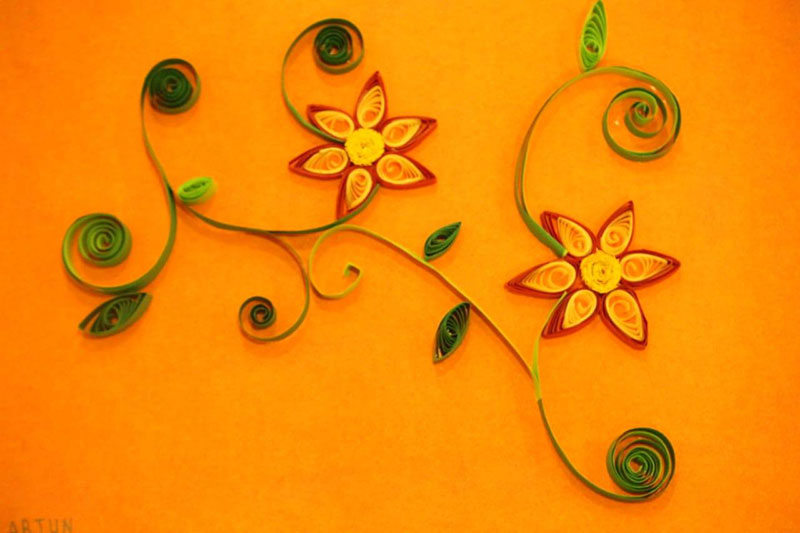 Art out of quilling - St. John's Public School